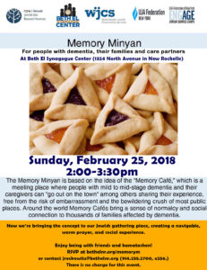 Memory Minyan: Purim @ Beth El Synagogue Center | New Rochelle | New York | United States